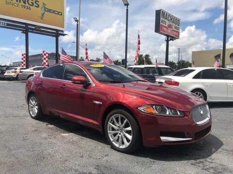 2013 Jaguar XF for sale at MACHADO AUTO SALES in Miami FL