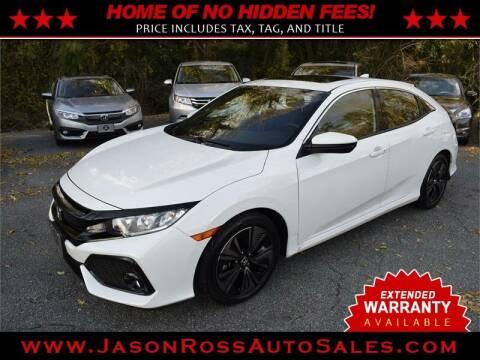 2018 Honda Civic for sale at Jason Ross Auto Sales in Burlington NC