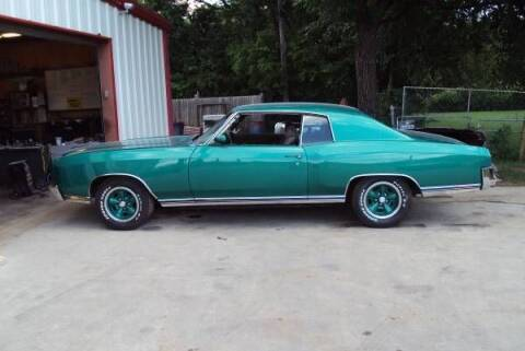 1972 Chevrolet Monte Carlo for sale at Classic Car Deals in Cadillac MI