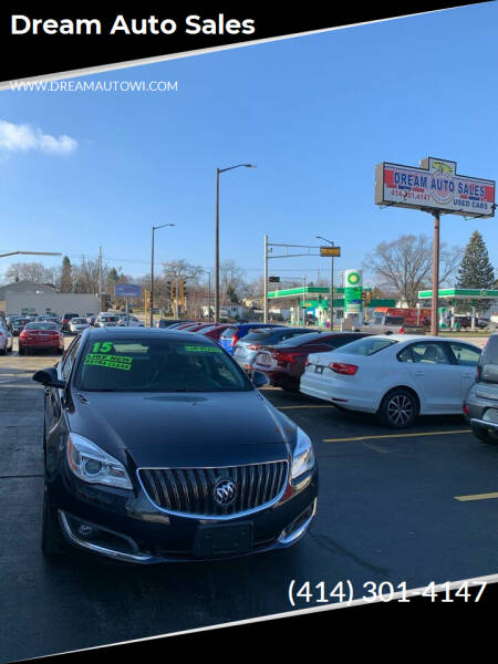 2015 Buick Regal for sale at Dream Auto Sales in South Milwaukee WI