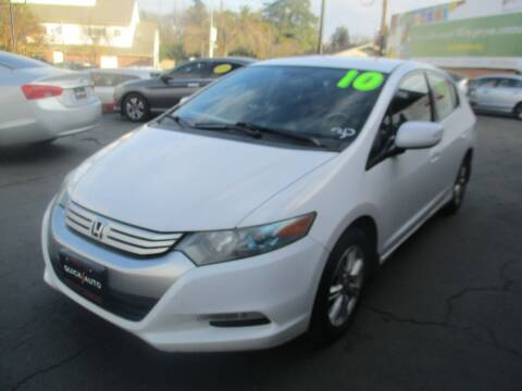 2010 Honda Insight for sale at Quick Auto Sales in Modesto CA