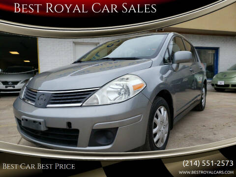 2008 Nissan Versa for sale at Best Royal Car Sales in Dallas TX