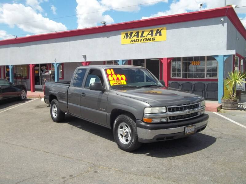 2001 Chevrolet Silverado 1500 for sale at Atayas Motors INC #1 in Sacramento CA