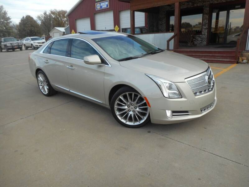 2013 Cadillac XTS for sale at Boyett Sales & Service in Holton KS