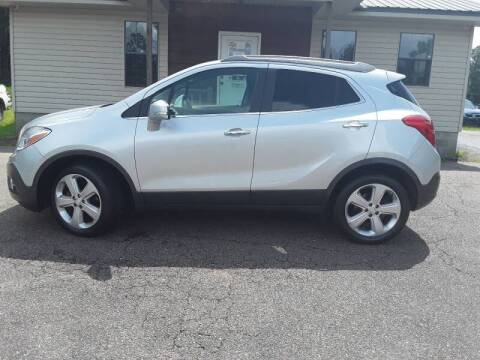 2015 Buick Encore for sale at WALKER MOTORS LLC in Hattiesburg MS