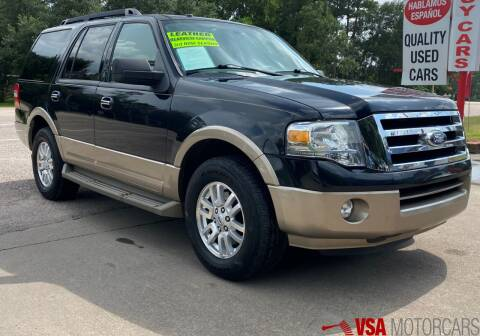 2013 Ford Expedition for sale at VSA MotorCars in Cypress TX