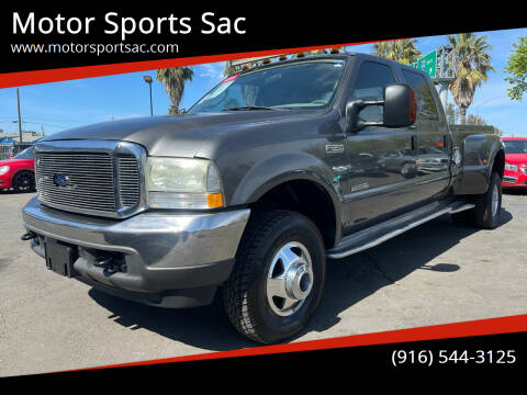2004 Ford F-350 Super Duty for sale at Motor Sports Sac in Sacramento CA