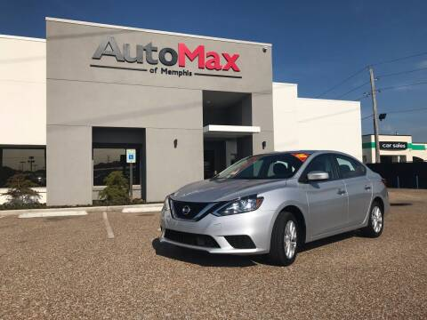 2019 Nissan Sentra for sale at AutoMax of Memphis in Memphis TN