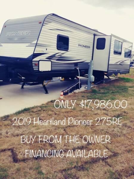 2019 Heartland Pioneer 275RE for sale at RV Wheelator in North America AZ