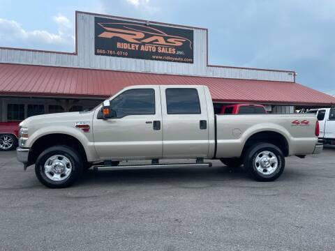 2010 Ford F-250 Super Duty for sale at Ridley Auto Sales, Inc. in White Pine TN