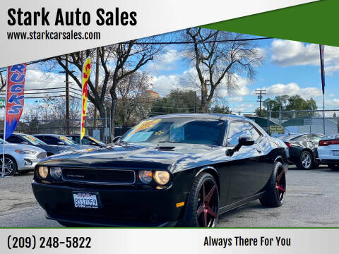 2012 Dodge Challenger for sale at Stark Auto Sales in Modesto CA