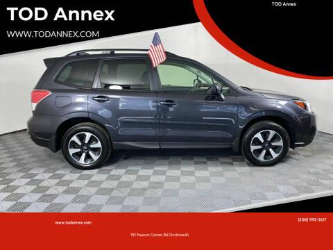 2018 Subaru Forester for sale at TOD Annex in North Dartmouth MA
