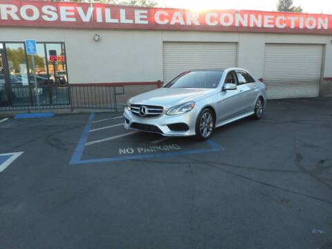 2014 Mercedes-Benz E-Class for sale at ROSEVILLE CAR CONNECTION in Roseville CA