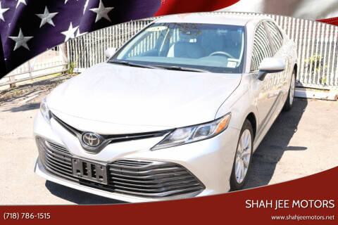 2018 Toyota Camry for sale at Shah Jee Motors in Woodside NY