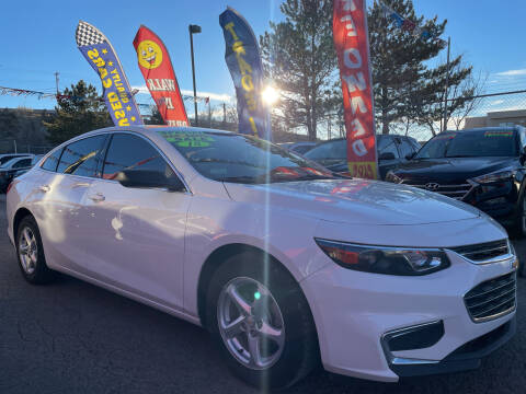 2018 Chevrolet Malibu for sale at Duke City Auto LLC in Gallup NM