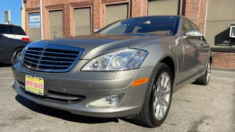 2007 Mercedes-Benz S-Class for sale at Rocky's Auto Sales in Worcester MA