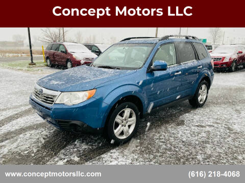 2010 Subaru Forester for sale at Concept Motors LLC in Holland MI