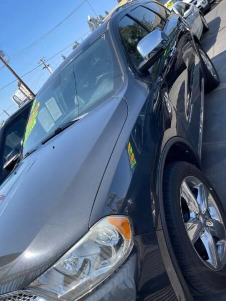 2011 Dodge Durango for sale at Rey's Auto Sales in Stockton CA