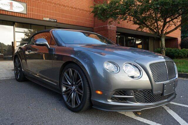 2015 Bentley Continental for sale at Team One Motorcars, LLC in Marietta GA
