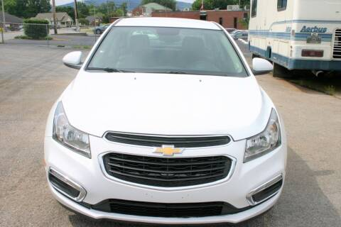 2016 Chevrolet Cruze Limited for sale at RIVERSIDE CUSTOM AUTOMOTIVE in Mc Minnville TN