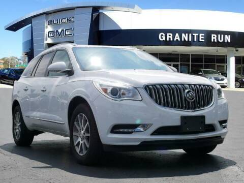 2017 Buick Enclave for sale at GRANITE RUN PRE OWNED CAR AND TRUCK OUTLET in Media PA