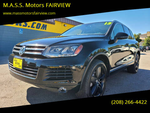 2013 Volkswagen Touareg for sale at M.A.S.S. Motors - Fairview in Boise ID