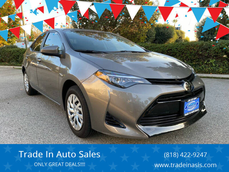2018 Toyota Corolla for sale at Trade In Auto Sales in Van Nuys CA