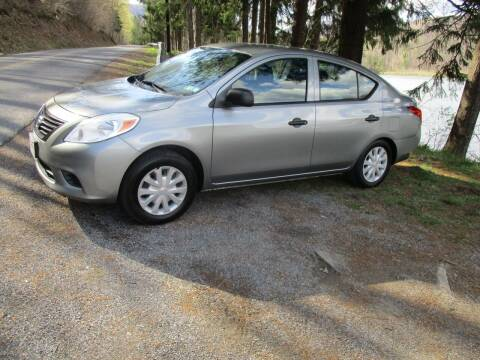 2013 Nissan Versa for sale at W.R. Barnhart Auto Sales in Altoona PA