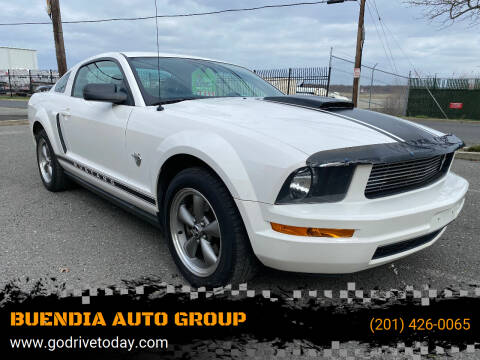 2009 Ford Mustang for sale at BUENDIA AUTO GROUP in Hasbrouck Heights NJ
