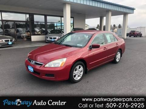 2007 Honda Accord for sale at PARKWAY AUTO CENTER AND RV in Deer Park WA