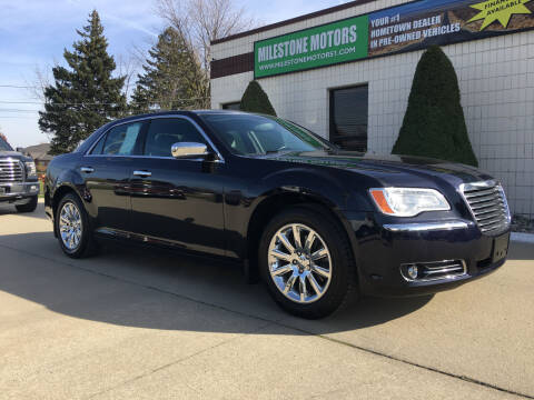 2011 Chrysler 300 for sale at MILESTONE MOTORS in Chesterfield MI