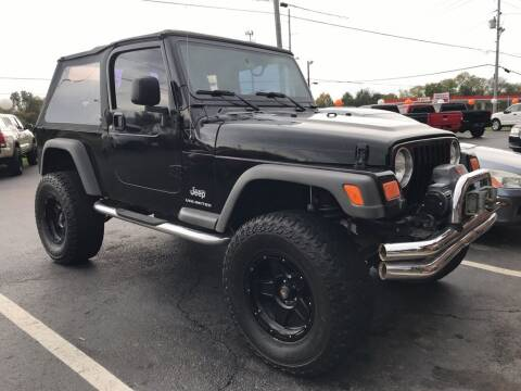 2005 Jeep Wrangler for sale at Auto Solutions in Maryville TN