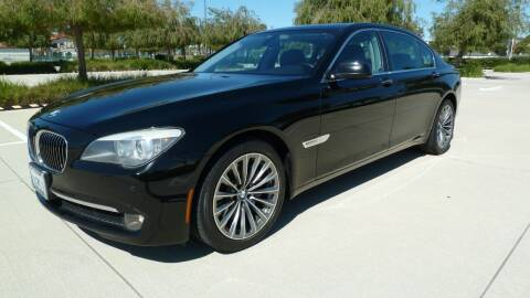 2011 BMW 7 Series for sale at International Motors in San Pedro CA