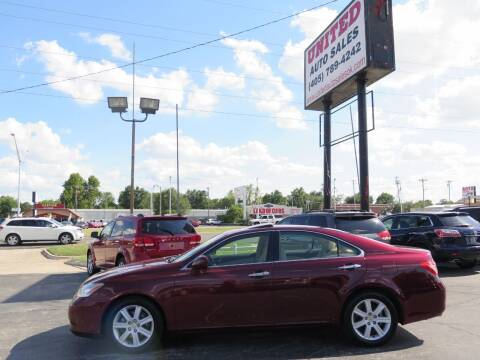 2007 Lexus ES 350 for sale at United Auto Sales in Oklahoma City OK