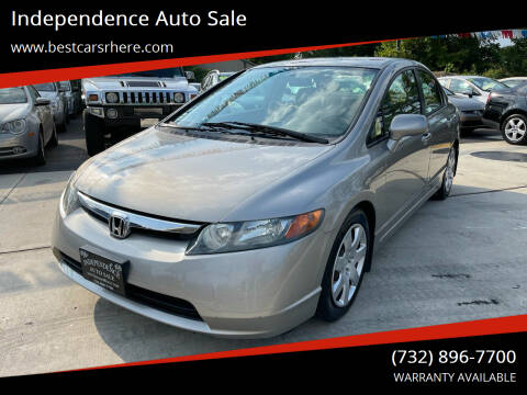 2006 Honda Civic for sale at Independence Auto Sale in Bordentown NJ