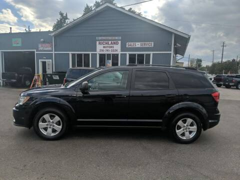 2011 Dodge Journey for sale at Richland Motors in Cleveland OH