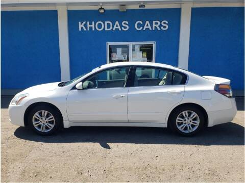 2011 Nissan Altima for sale at Khodas Cars in Gilroy CA