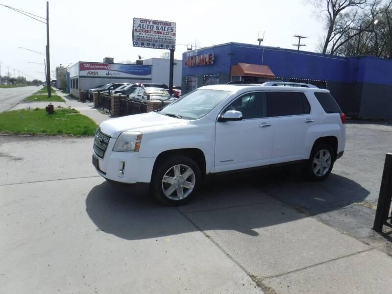 2010 GMC Terrain for sale at City Motors Auto Sale LLC in Redford MI