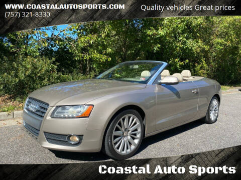 2010 Audi A5 for sale at Coastal Auto Sports in Chesapeake VA