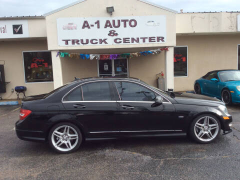 2012 Mercedes-Benz C-Class for sale at A-1 AUTO AND TRUCK CENTER in Memphis TN