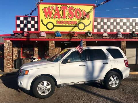 2012 Ford Escape for sale at Watson Motors in Poteau OK