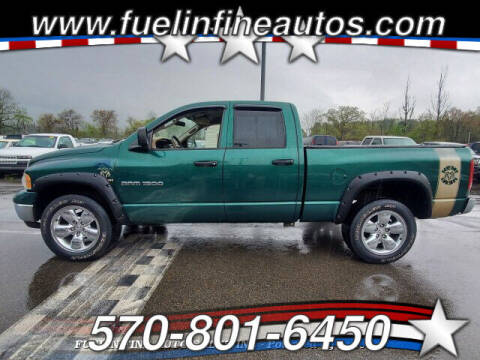 2003 Dodge Ram Pickup 1500 for sale at FUELIN FINE AUTO SALES INC in Saylorsburg PA