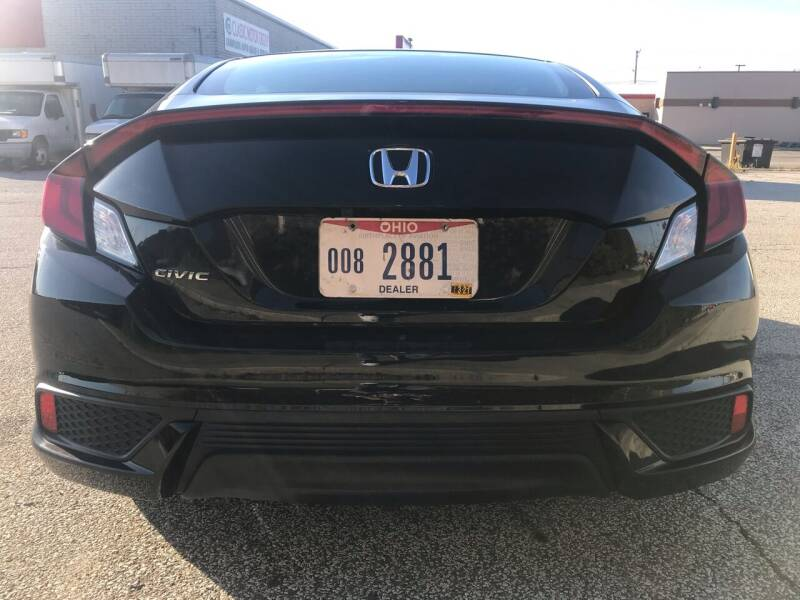 2016 Honda Civic LX-P 2dr Coupe - Cleveland OH