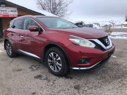 2015 Nissan Murano for sale at 5 Star Truck and Auto in Idaho Falls ID