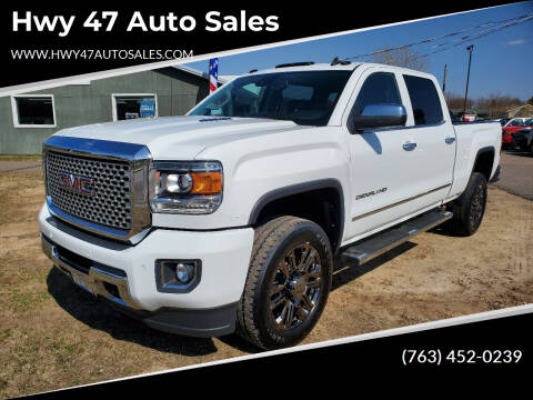 2015 GMC Sierra 2500HD for sale at Hwy 47 Auto Sales in Saint Francis MN