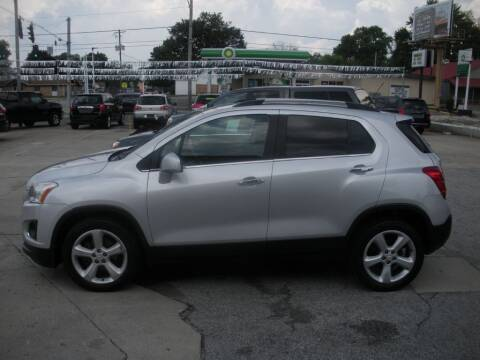 2016 Chevrolet Trax for sale at Bob Boruff Auto Sales in Kokomo IN