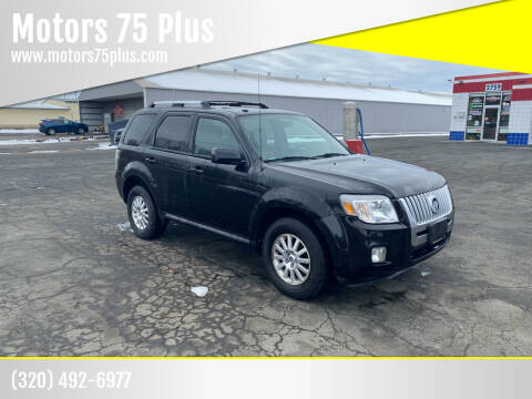 2011 Mercury Mariner for sale at Motors 75 Plus in Saint Cloud MN