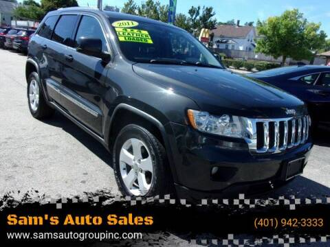 2011 Jeep Grand Cherokee for sale at Sam's Auto Sales in Cranston RI