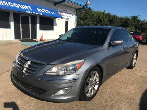 2014 Hyundai Genesis for sale at Discount Auto Company in Houston TX