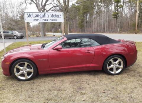 2014 Chevrolet Camaro for sale at McLaughlin Motorz in North Muskegon MI